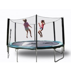 16' Best Trampoline USA by Galactic Xtreme with Enclosure Safety Combo