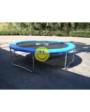 10 FT Galactic Xtreme Outdoor Trampoline Without Enclosure / NO NET ENCLOSURE