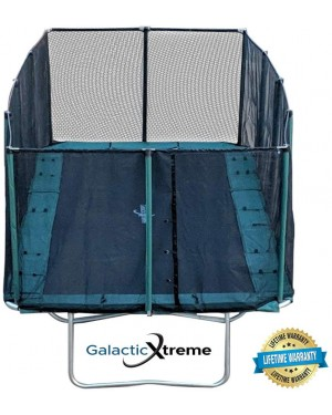 10x17 FT Best Gymnastics Trampoline USA XHD by Galactic Xtreme with Enclosure Safety Combo