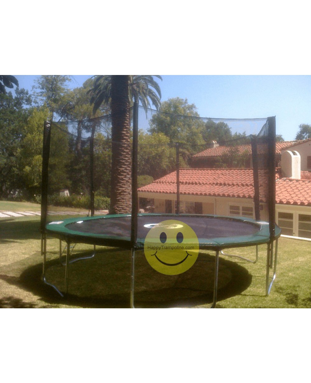 14 Ft Trampoline Combo Bounce Jump Safety: 14 Foot Best Heavy Duty Trampoline With Enclosure Safety