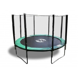 12' Best Trampoline USA XHD by Galactic Xtreme with Enclosure Safety Combo