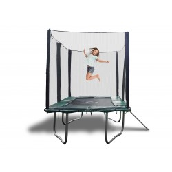 7x10 FT Galactic Xtreme EXTRA HEAVY DUTY Trampoline & Enclosure Safety Combo with Ladder
