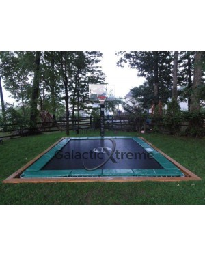 7'x10' Galactic Xtreme Trampoline ONLY / NO NET ENCLOSURE