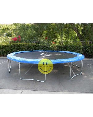 15 FT Galactic Xtreme Trampoline ONLY / TRAMPOLINE WITHOUT ENCLOSURE